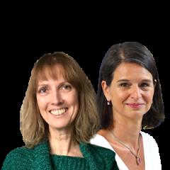 Yvonne Grevenitz und Claudia Meining